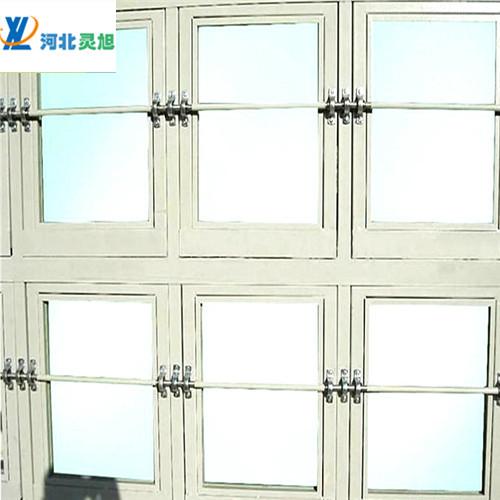 泄爆窗厂家产品用的什么玻璃--灵旭泄爆窗