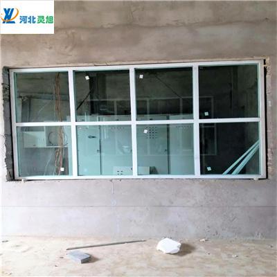 防爆门窗厂家为东营环保科技公司安装防爆窗项目